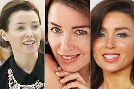before after and glam stars faces behind those make up free magazine covers