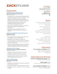 Social Media Specialist Resume Sample Twenty First Century