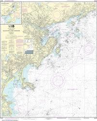 Noaa Nautical Chart 13275 Salem And Lynn Harbors Manchester Harbor