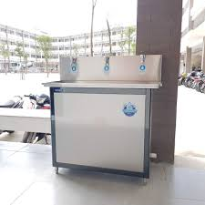 Máy Lọc Nước Uống Học Đường, Trường Học DONGA DAD-3S (3 vòi, Kèm lọc R.O  65L/h, 300 Người Dùng)
