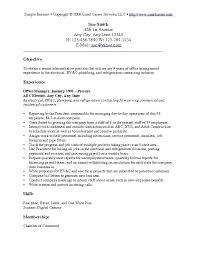 objective for general resume - Exol.gbabogados.co