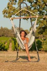 Comfort galore in this free standing hammock chair! (hammock and ...