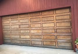 before photo of garage door before 100 update