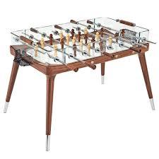 foosball coffee table lovely foosball table by teckell in walnut