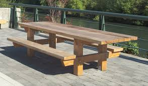 my ideas free large round picnic table plans