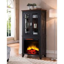 Free Standing Display Cabinets Bold Flame Concord 100 In Display Cabinet Electric Fireplace In 35