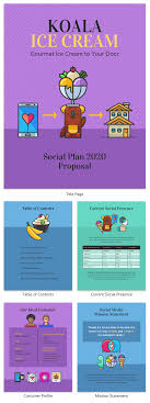 Social Media Proposal Template Social Media Plan Proposal Template