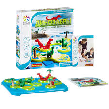 <b>Логическая игра</b> Динозавры. Таинственные острова, <b>Bondibon</b> ...