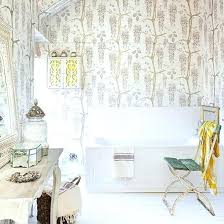 shabby chic bathroom decor ideas with feature wallpaper and candles brilliant lighting rug sets shabby chic bathroom