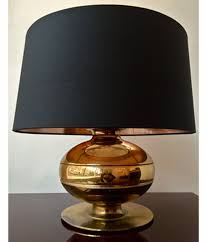 pair of brass italian table lamps by luci pair of lamps r43