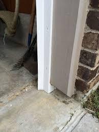 scenic installing garage door seal kit