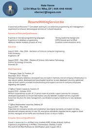 Resume Information Technology Sample Sidemcicek Com