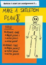 writing library skeletonplan