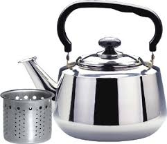 stove top teapot. get quotations · tea kettle-1.6 liters stovetop kettle with strainer, heavy gauge stainless steel pot stove top teapot
