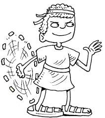 David And Goliath Coloring Page 488websitedesigncom