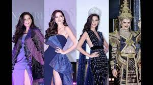 Press conference | มารีญา พูลเลิศลาภ Miss Universe Thailand 2017  เปิดตัวชุดสู้ศึก Miss Universe - YouTube