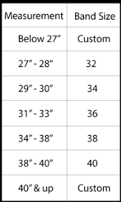 Band Size And Cup Size Chart Find Your Bra Band Size La Bella Coppia Lingerie