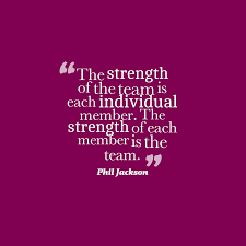 Phil Jackson Quote About Team Work