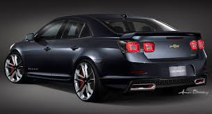 SEMA Sedans: 2013 Chevrolet Malibu Turbo and 2014 Chevrolet Impala ...