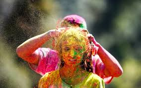 what is the holi festival and why is it celebrated by throwing holi celebrated in kathmandu