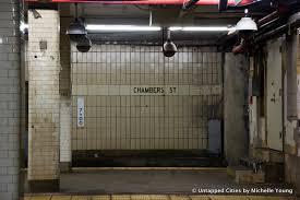 subway station wall. Fine Wall Abandoned Subway PlatformsLevelsNYCChambers Street_12 Throughout Station Wall R