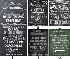 chalkboard fonts free free chalkboard fonts and free printable color me meg