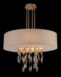 limited ion design stock elegant faceted crystal drum pendant off white shade antique gold 36 x 36 x 9 inches partner table