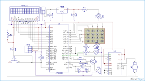 microcontroller block diagram explanation the wiring diagram rfid based security system using 8051 microcontroller block diagram