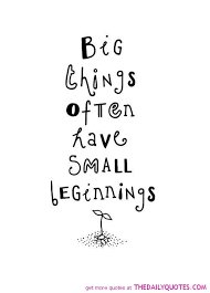 Small Life Quote Awesome Small Life Quote Captivating Big Things The Daily Quotes
