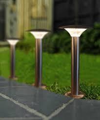 garden lamp post. 5w LED Bollard Garden Lamp Post Pathway Light Stainless Steel R