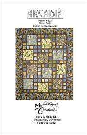 Patterns & Check It Out. Arcadia Quilt Pattern Adamdwight.com