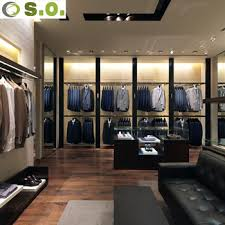 Interior Display Stands Custom Highend Man Clothing Shop Interior Display Stands Design 38