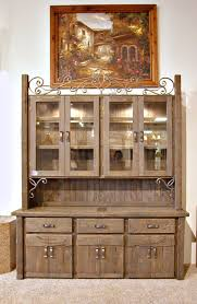 China Cabinet - Hutch With Wine Rack - SPH481 - Handmade dining room  furniture, solid