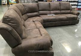 motion sectional with three recliners costco weekender outdoor recliner chairs costco