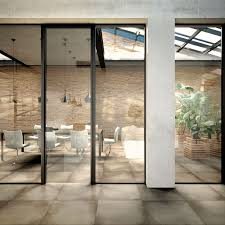 swing door combined to fixed glass walls extralight clear glass mocha accessories and profiles mocha isy frame
