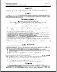 100 Engineering Resume Objectives Samples Resume Process