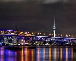 Night Light Auckland Vector Lights Auckland Harbour Bridge Beveragesmart Limited