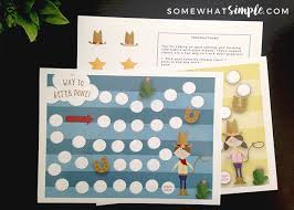 Goal Tracker Reward Chart For Kids Somewhat Simple