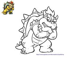 Download Paper Bowser Coloring Pages Surging Baby 8 Rallytv O 13950