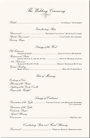 sample wedding ceremony program wedding program examples wedding program wording wedding ceremony