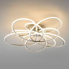 Потолочный <b>светильник 90143/5 хром</b> 216W Spring Евросвет |NK ...