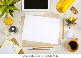 Office Table Top View Images Stock Photos Vectors Shutterstock