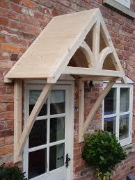 front door awningsTimber Front Door Canopy Porch SHROPSHIRE DOOR CANOPIES curved