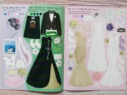 ĐÁNH GIÁ] Dán Hình Sáng Tạo Trang Phục Búp Bê - Chiếc Váy Cưới Mơ Ước, giá  rẻ 55,200đ! Xem đánh giá ...