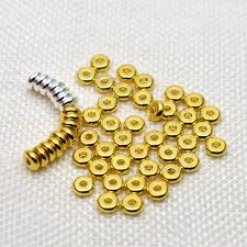 <b>Wholesale 4/5/6</b>/<b>8mm304 Stainless</b> Steel Flat Round Spacer Beads ...