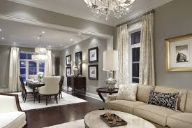 Decoration Dark Hardwood Floors Grey Walls Medium Light Grey Walls