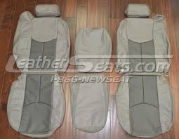 2003 2007 chevy silverado sierra crew leather seat covers