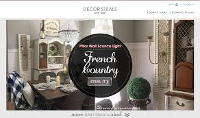 decor steals rustic pillar wall sconce french farmhouse dining room from my