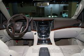 cadillac escalade interior 2015. 2015 cadillac escalade at the 2014 moscow motor show interior