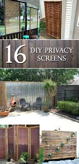 garden privacy screen screens that will make your space more intimate free standing uk ideas me